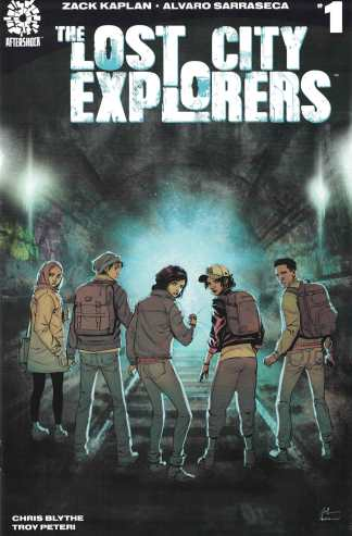 Lost City Explorers #1 First Print Cover A 1st Aftershock 2018