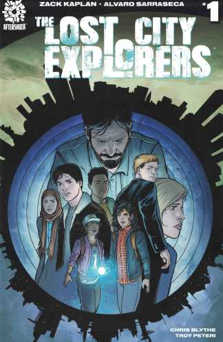 Lost City Explorers #1 First Print Cover B Variant 1st Aftershock 2018