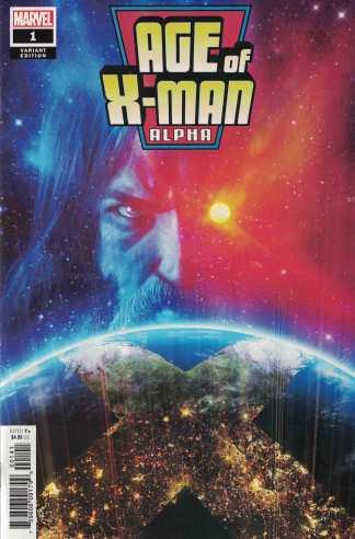 Age of X-Man Alpha #1 1:25 Rahzzah Variant Marvel 2019 X-Men