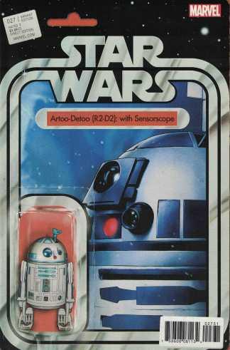 Star Wars #27 R2-D2 Sensorscope Action Figure Variant Marvel 2015
