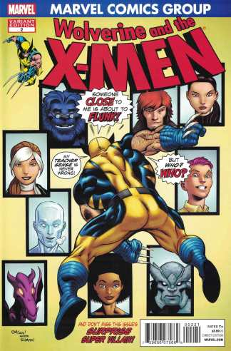 Wolverine and the X-Men #2 1:50 McGuinness Spider-Man #121 Homage Variant
