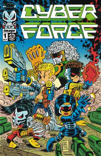 Cyber Force #1 Chris G Giarrusso Homage Variant Image 2012