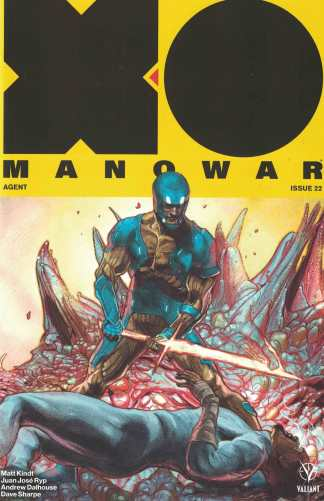 X-O Manowar #22 1:20 Renato Guedes Variant Cover D Valiant 2017
