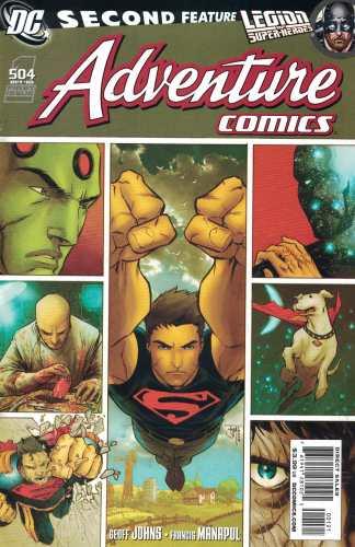 Adventure Comics #1 1:10 Francis Manapul #504 Variant DC Comics 2009 Superboy