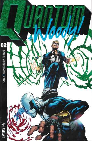 Quantum & Woody #2 1:20 Geoff Shaw Ultra Foil Chase Valiant Variant 2018