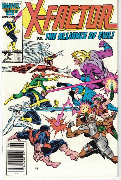 X-Factor #5 VF Very Fine 1st Apocalypse Cameo First Marvel 1986 BIR