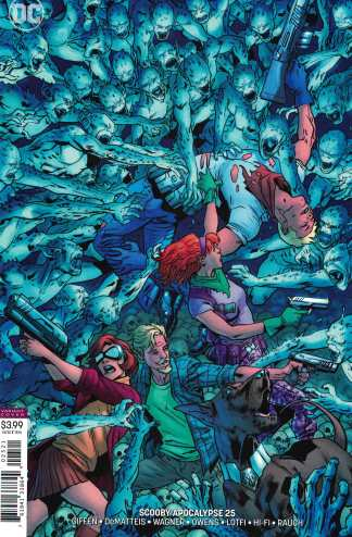 Scooby Apocalypse #25 Death of Fred Jones Hitch Variant Cover B DC 2016