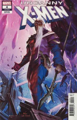 Uncanny X-Men #4 1:25 In-Hyuk Lee Variant Marvel 2018 Magneto