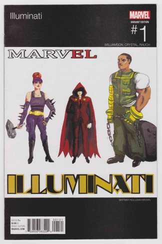 Illuminati #1 Holloway-Brown Hip Hop Variant Marvel 2015 ANAD VF/NM
