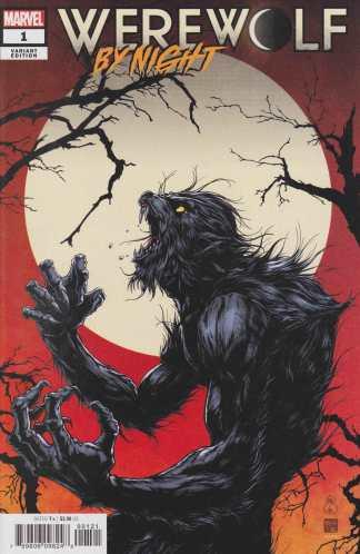 Werewolf By Night #1 1:50 Takashi Okazaki Variant Marvel 2020