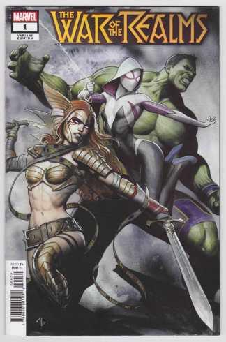 War of the Realms #1 Adi Granov Variant Marvel 2020 VF/NM