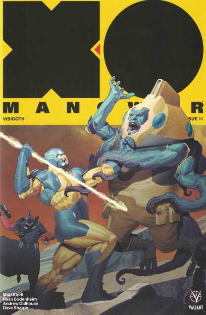 X-O Manowar #11 1:20 Olivetti Variant Cover C Valiant 2017