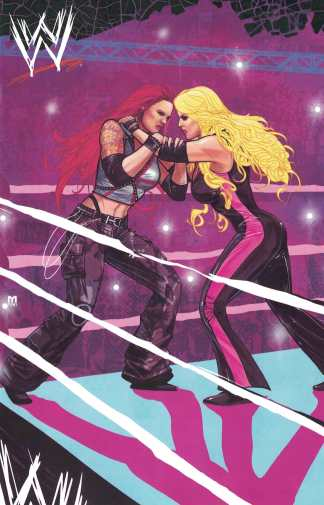 WWE Forever #1 1:15 Marco D'Alfonso One Per Store Variant Boom 2019
