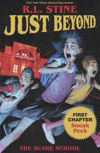 Just Beyond Ashcan #1 ComicsPRO Tedesco Variant Boom! 2019 RL Stine Goosebumps