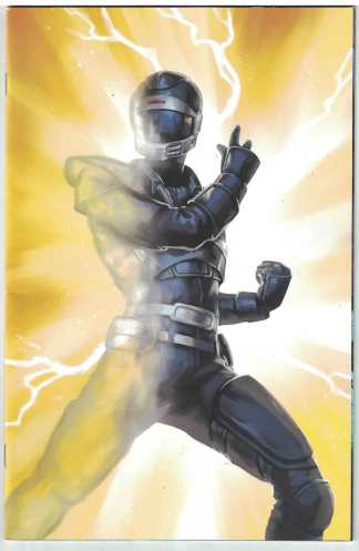Mighty Morphin Power Rangers #36 1:25 Lithen Virgin Art Variant 2016 VF/NM