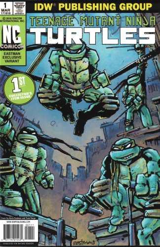 Teenage Mutant Ninja Turtles #1 NC Comicon Exclusive Kevin Eastman Variant 2011
