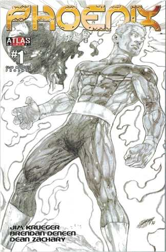 Phoenix #1 1:10 Dean Zachary Variant Ardden Entertainment Cover B 2010