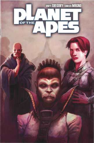 Planet of Apes #4 1:10 Scott Keating Retailer Incentive Variant Boom Cover C 2011