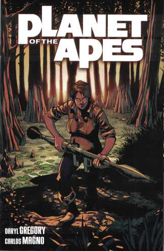 Planet of Apes #6 1:10 Damian Couceiro Variant Boom 2011