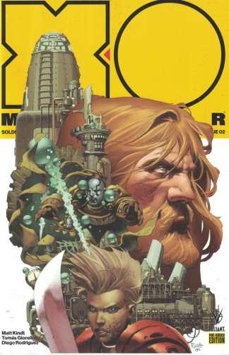 X-O Manowar #2 Giorello Pre-Order Edition Variant Valiant 2017