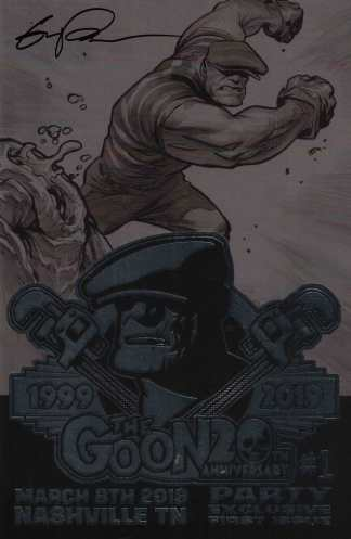 Goon #1 20th Anniversary Party Exclusive Powell SIGNED Foil Variant Albatross