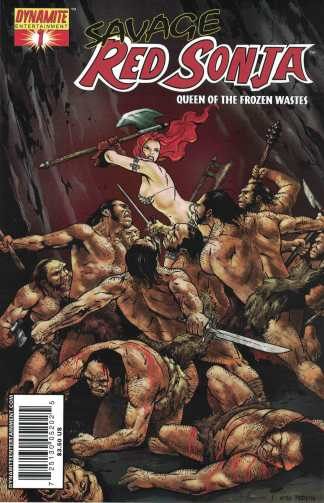 Savage Red Sonja Queen of the Frozen Wastes #1 Frank Cho Variant Dynamite 2006