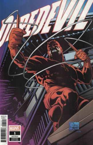Daredevil #1 1:100 Joe Quesada Hidden Gem Variant Marvel 2019 #613 Chip ZDarsky