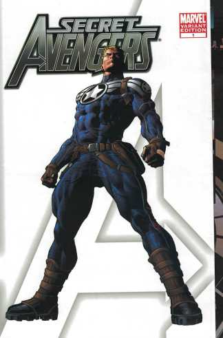 Secret Avengers #1 Mike Deodato Limited Gatefold Party Variant Marvel 2010