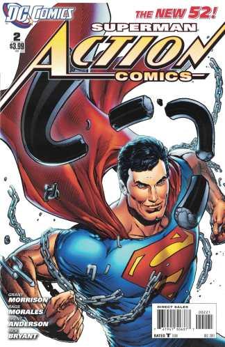 Action Comics #2 Ethan Van Sciver Variant DC 2011