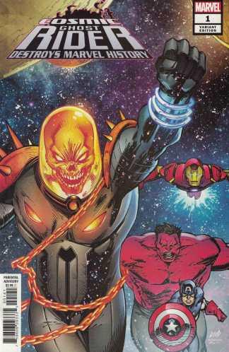 Cosmic Ghost Rider Destroys Marvel History #1 1:25 Liefeld Variant Marvel 2019