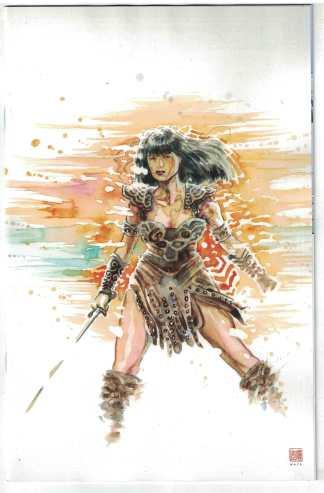 Xena Warrior Princess #4 1:10 David Mack Virgin Variant Dynamite 2019 VF/NM