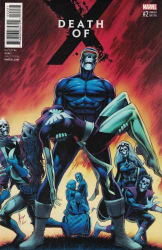 Death of X #2 Dale Keown Dark Phoenix Homage Variant Marvel X-Men 2016