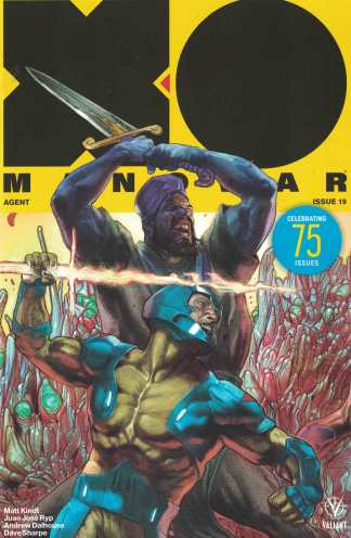 X-O Manowar #19 1:20 Renato Guedes Icons Variant Cover E Valiant 2017