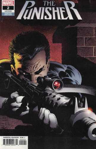 Punisher #2 1:100 Mike Zeck Hidden Gems Variant Marvel 2018