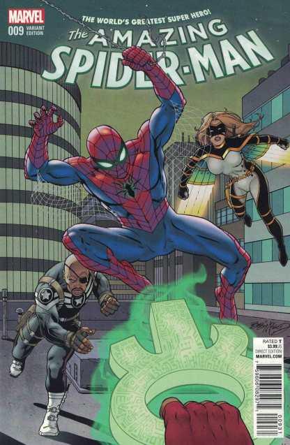 Amazing Spider-Man #9 1:15 Bob Mcleod Classic Variant ANAD 2015 Marvel