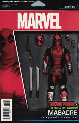 Deadpool and the Mercs for Money #1 Action Figure Variant Marvel 2016 Masacre