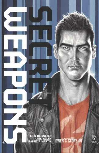 Secret Weapons Owen's Story #0 1:20 Lief Jones Variant Cover D Valiant 2018