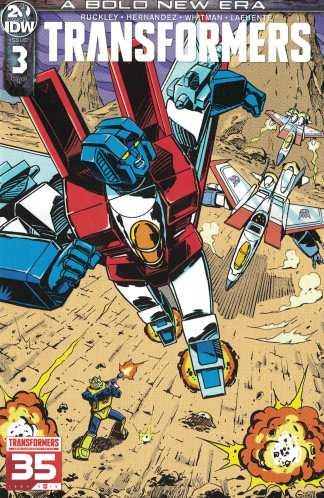 Transformers #1 1:10 Guido Guidi Variant Retailer Incentive RI IDW 2019