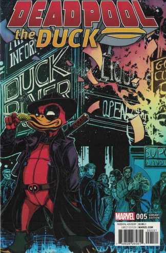 Deadpool the Duck #5 1:25 Chin Variant Marvel 2016 Howard