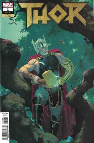 Thor #1 1:50 Esad Ribic Variant Marvel 2018 Fresh Start