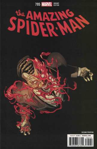 Amazing Spider-Man #795 Second Printing Variant Red Goblin 2nd