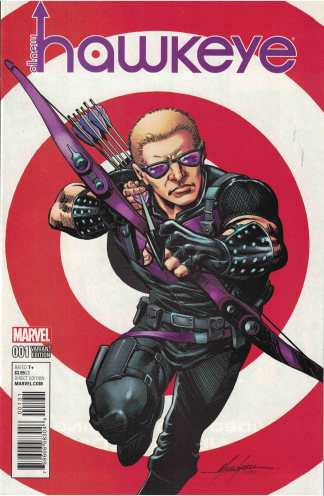 All-New Hawkeye #1 1:25 Mike Grell Variant Marvel 2016