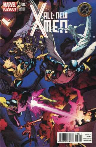 All New X-Men #8 Bachalo 50th Anniversary Connecting Variant Marvel 2012