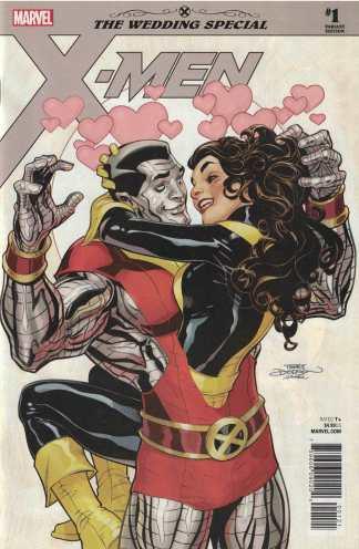 X-Men Wedding Special #1 Terry Dodson Variant Marvel 2018