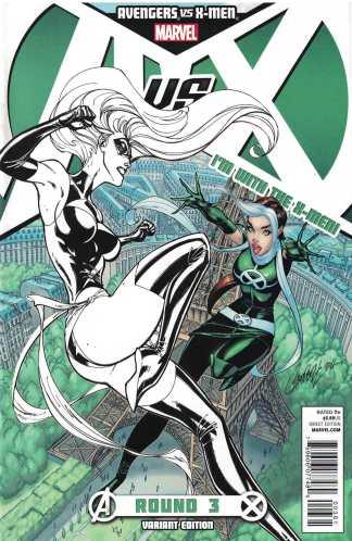 Avengers vs X-Men #3 Campbell X Team Variant Rogue Marvel 2012 AvX