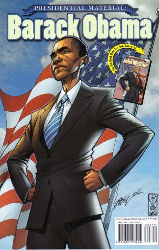 Presidential Material: Barack Obama / John McCain Flip-Book J. Scott Campbell