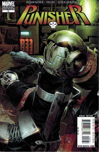 Punisher #8 Tom Raney Franken-Castle Variant