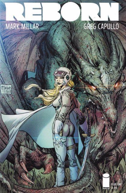 Reborn #1 1:25 Todd McFarlane Variant Cover H Image Comics 2016 Millar Capullo