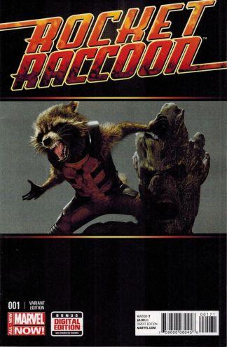 Rocket Raccoon #1 1:15 Movie Variant Guardians of the Galaxy