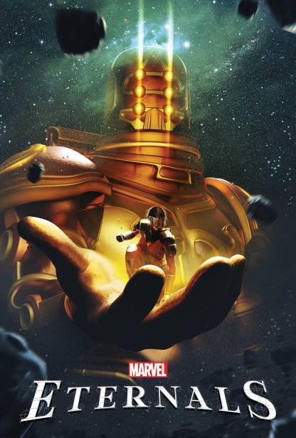 Eternals #1 1:50 BossLogic Variant Marvel 2021 Kieron Gillen Esad Ribic